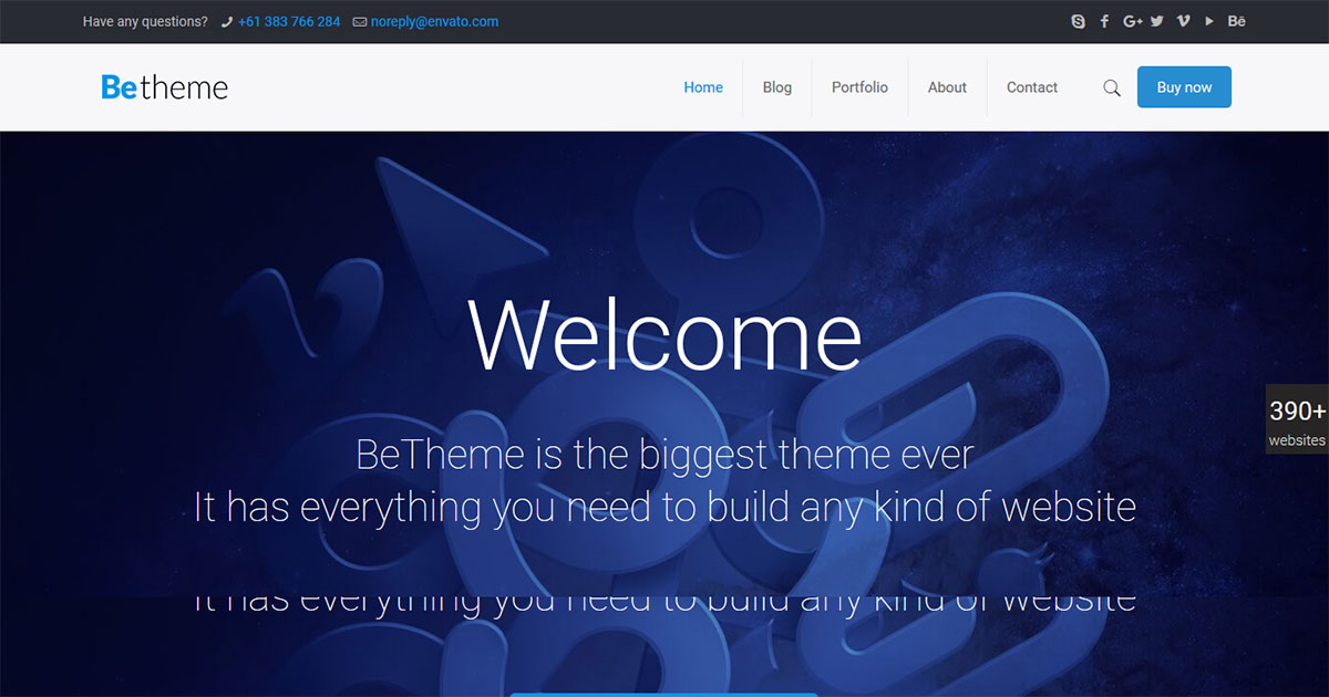 Be WordPress Theme