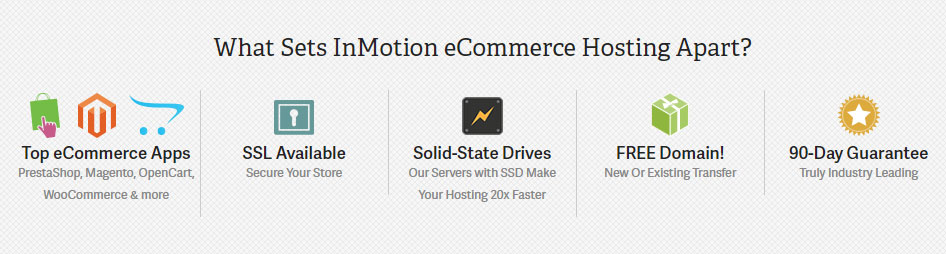 InMotion eCommerce Features More