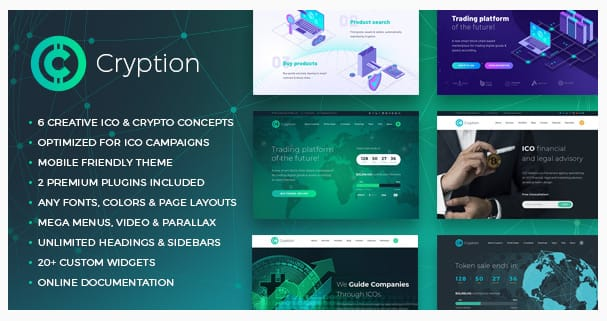 Cryption WordPress Theme