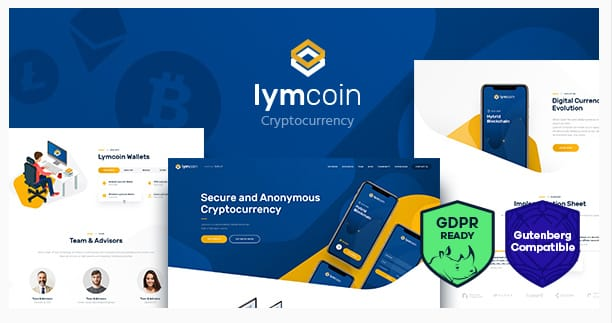 Lymcoin WordPress Theme