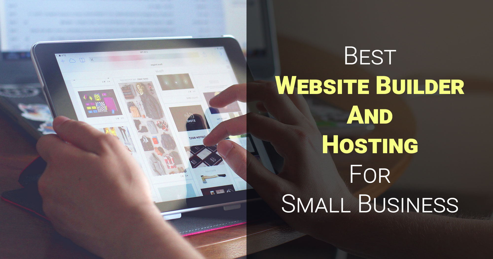 Best Website Builder And Hosting For Small Business