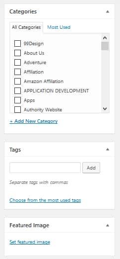 Add Post To WordPress Website Step 3