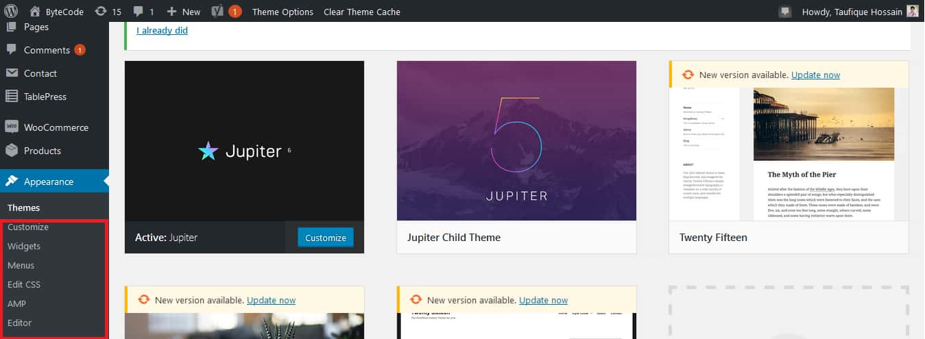 How To Select A WordPress Theme Step 6