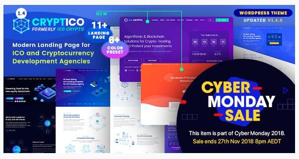 Cryptico WordPress Theme