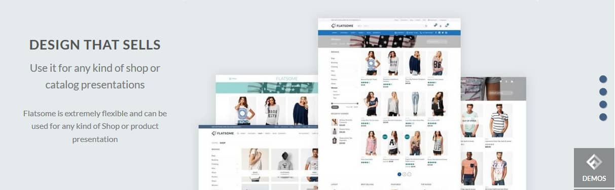 Flatsome Theme Design and Style