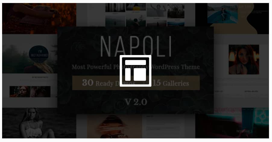 Photography Napoli WordPress Theme