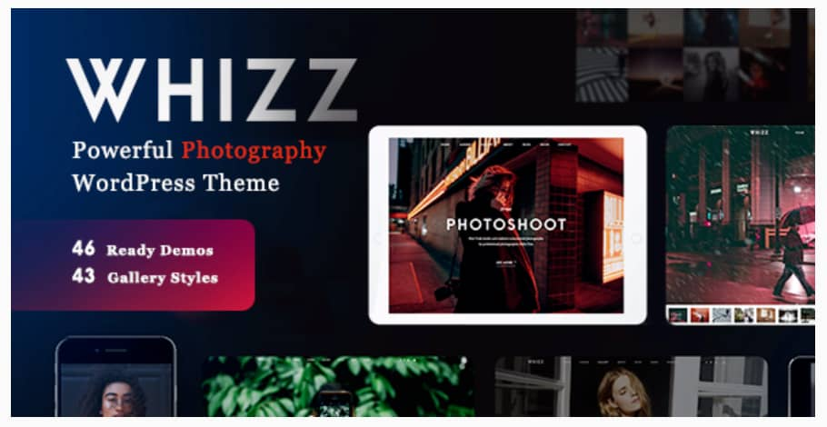 Photography Whizz WordPress Theme