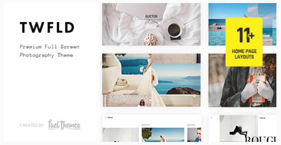 TwoFold WordPress Theme