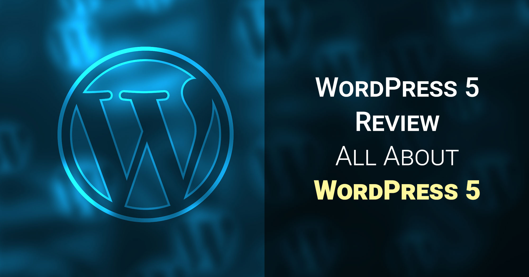 WordPress 5 Review